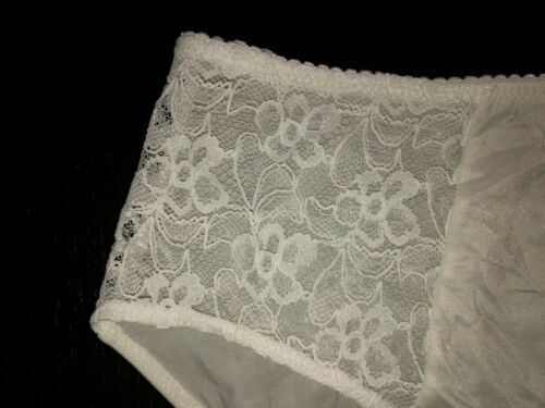 Details about  /Bettie Page Inspired Secrets in Lace Panties-Ivory-Size Small-New with Tags