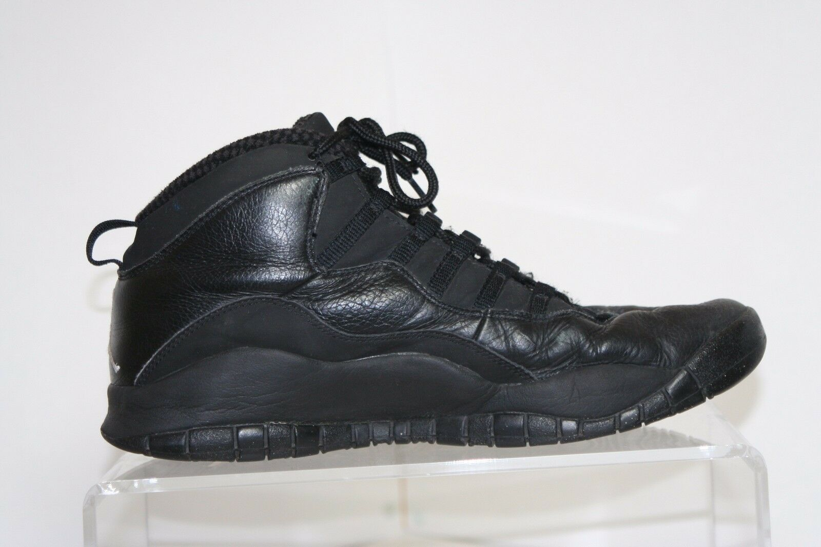 Seasonal price cuts, discount benefits Nike Air Jordan 10 Retro 2018 Sneaker Athletic Black White Men 12 Hip Leather