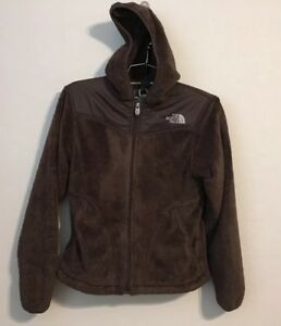 a33c19e0a307 Womens North Face X Small Chocolate Brown Fleece Zip Front Jacket ...