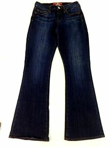 """LUCKY BRAND WOMENS DARK WASH """"SOFIA"""" BOOT CUT JEANS SIZE 4/27"""