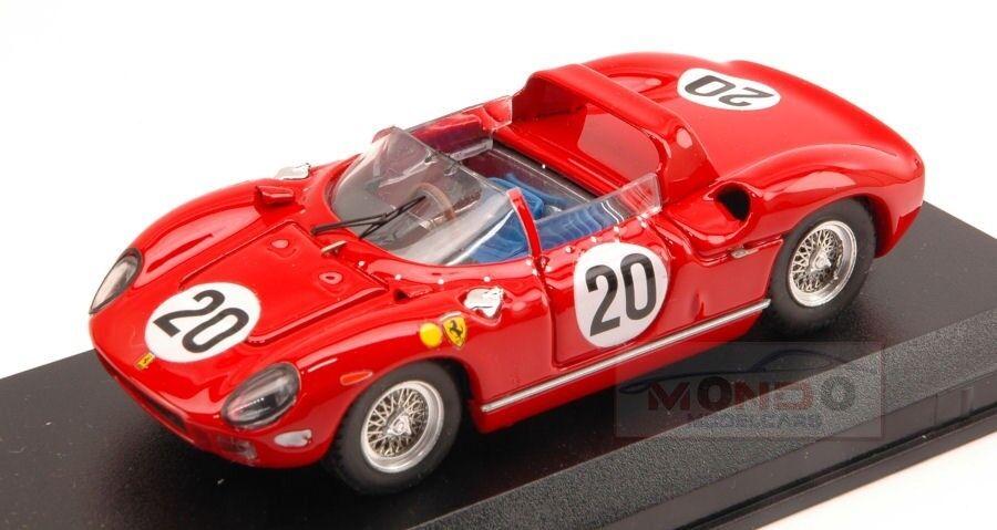 exclusivo Ferrari 275 P P P  20 Winner Le Mans 1964 Guichet-VacCocheella 1 43 Art Model ART154  ganancia cero