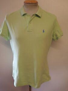 d3c881fd1 Genuine Vintage Ralph Lauren men s Green Polo Shirt Size M 38-40 ...