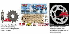 DID- Super Gold X Ring Chain Kit 17t 45t 122 fits Yamaha FZ1 Fazer ABS 06-12