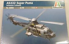 Italeri 1/72 AS332 Super Puma Helicopter 1096