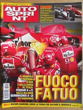 AUTOSPRINT n°20 2003  McLaren MP4-18 - Rally Sanremo   [P68]