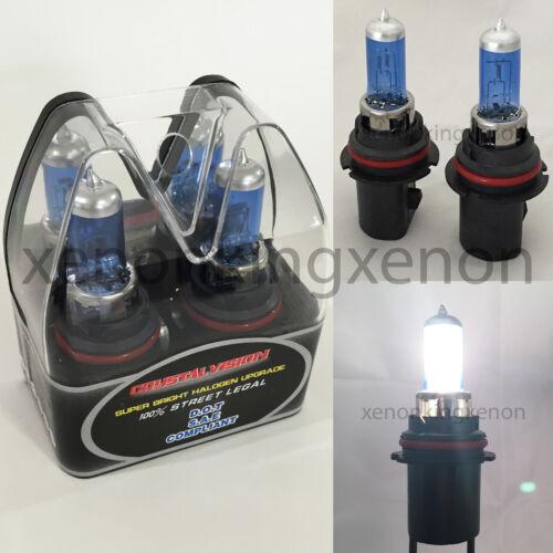 M-Box 9007-HB5 White 100//80W Halogen 5000K Headlight Light Bulb #d2 High//Lo Beam
