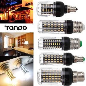 LED-Corn-Light-Bulbs-E12-E26-E27-E14-B22-30W-20W-12W-4014-SMD-AC-110V-220V-Lamp