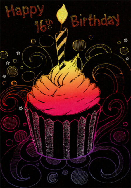 Personalised Handmade Cupcakes Birthday Card
