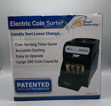 Royal Sovereign Quick Sort Coin Sorter Counter Machine Qs 1ac