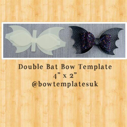 Chauve-souris hairbow modèle Hair Bow Fournitures Plastique Nœud Modèle Hair Bow modèle