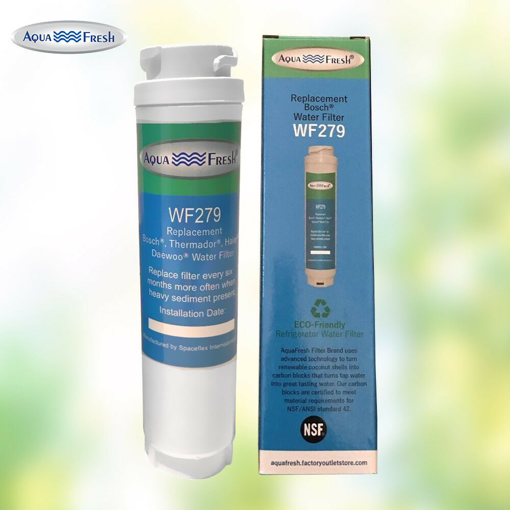 Fits Bosch B26FT70SNS//02 Refrigerators 2 Pack Aqua Fresh Water Filter
