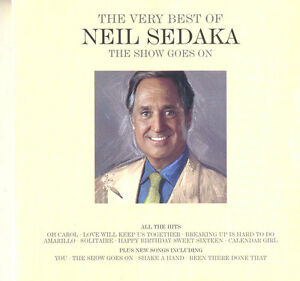 NEIL-SEDAKA-2-CD-The-Very-Best-Of-The-Show-Goes-On-UNIVERSAL-MUSIC-pop-rock
