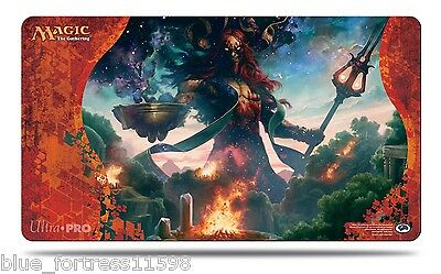 BORN OF THE GODS Xenagos, God of Revels PLAYMAT PLAY MAT ULTRA PRO FOR CARDS