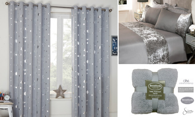 Up to 10% Off Glitzy Bedding and Curtains