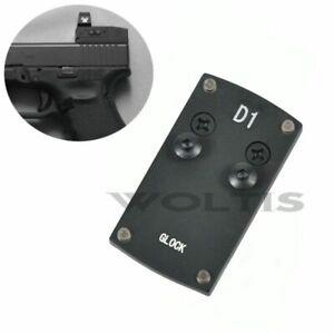 Mount-Plate-for-Glock-Pistol-Handgun-Fits-VORTEX-VENOM-VIPER-Micro-Red-Dot-Sight