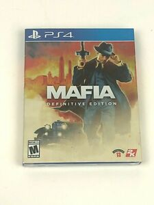 Brand New & Sealed Mafia Definitive Edition for PS4 PlayStation 4