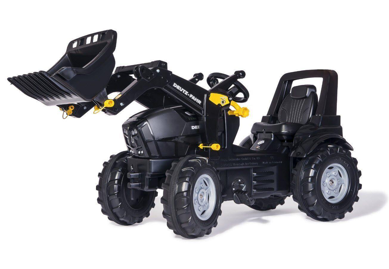 Rolly Toys Traktor Trettraktor DEUTZ Warrior schwarz 710348 NEU