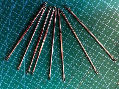 Lot 50 AIGUILLES 8,4cm pour Machines à Tricoter SINGER PHILDAR SUPERBA
