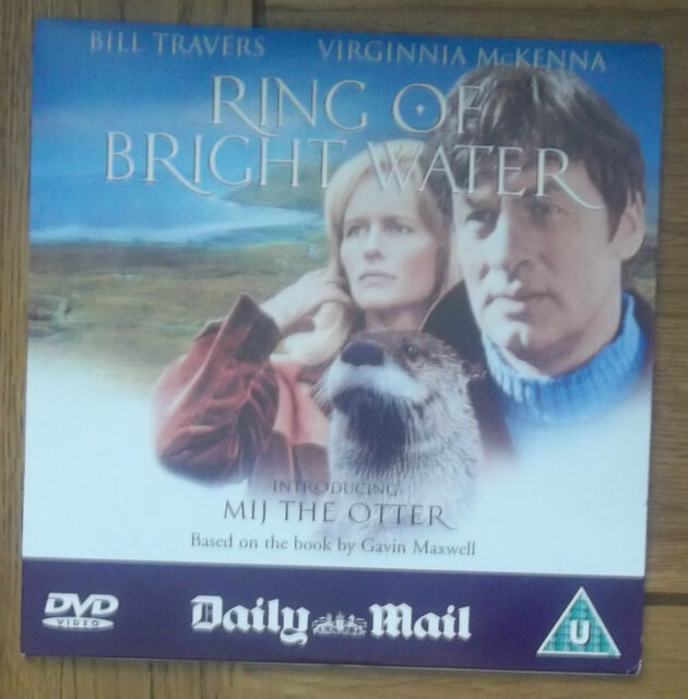 DVD - RING OF BRIGHT WATER introducing MIJ THE OTTER - NEWSPAPER PROMOTION