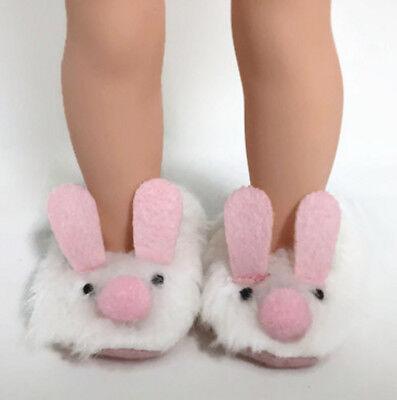 Santa Helper Jumpsuit Slippers Lot for 14 in Wellie Wishers American Girl Doll