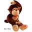 Giant-Huge-Large-Big-Stuffed-Animal-Soft-Plush-Brown-Monkey-Doll-Plush-Toy thumbnail 7