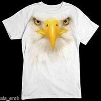 Eagle Face Heat Press Transfer For T Shirt Sweatshirt Quilt Fabric 201o Oversize