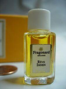 Womens Fragonard Reve Indien Perfume Parfum 2 Ml Bottle Jasmine Rose