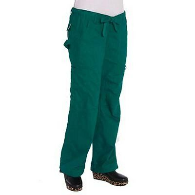 NWT KOI Lindsey Petite Black Scrub Pants Style 701p-02 Size XS to XL