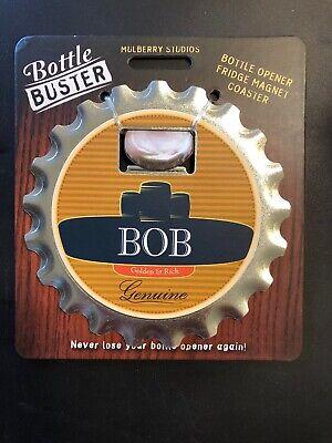 BOTTLE BUSTER CARL~COASTER~FRIDGE MAGNET~BOTTLE OPENER~NEW~FREE US SHIP~