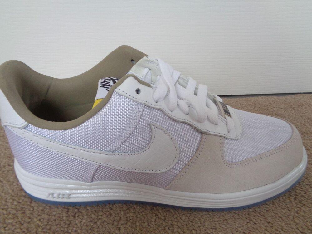 Nike Lunar Force 1 QS Baskets Homme Baskets 635274 635274 635274 100 UK 6 EU 40 US 7 Neuf + Boîte- b39228