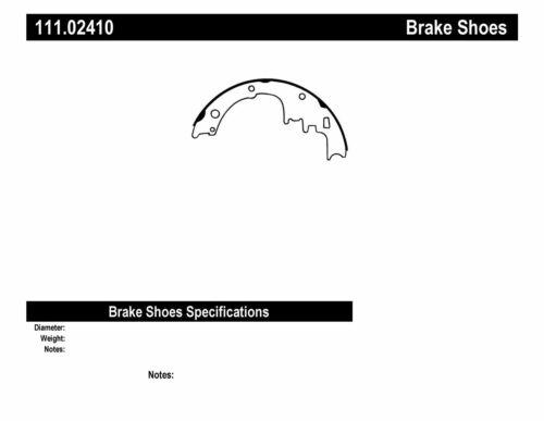 Premium Brake Shoes-Preferred fits 1964-1970 Pontiac Tempest LeMans,Tempest GTO