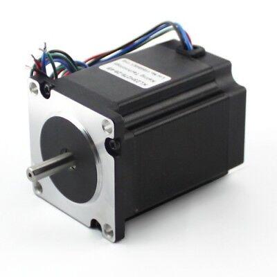 KL23H2100-30-4B NEMA23 382oz//in 3.0A Stepper Motor 1//4 Dual shaft