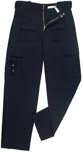 Image is loading Dark-Navy-Blue-Tactical-Uniform-Pants-Law-Enforcement- 8ab568042f7