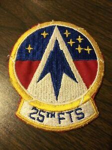 "US Air Force 25th Flying Training Squadron 4"" x 4.5"" Patch"