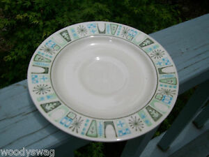 Taylor-Smith-Cathay-Saucer-Vintage-retro-Mid-Century-Replacement-your-set-White