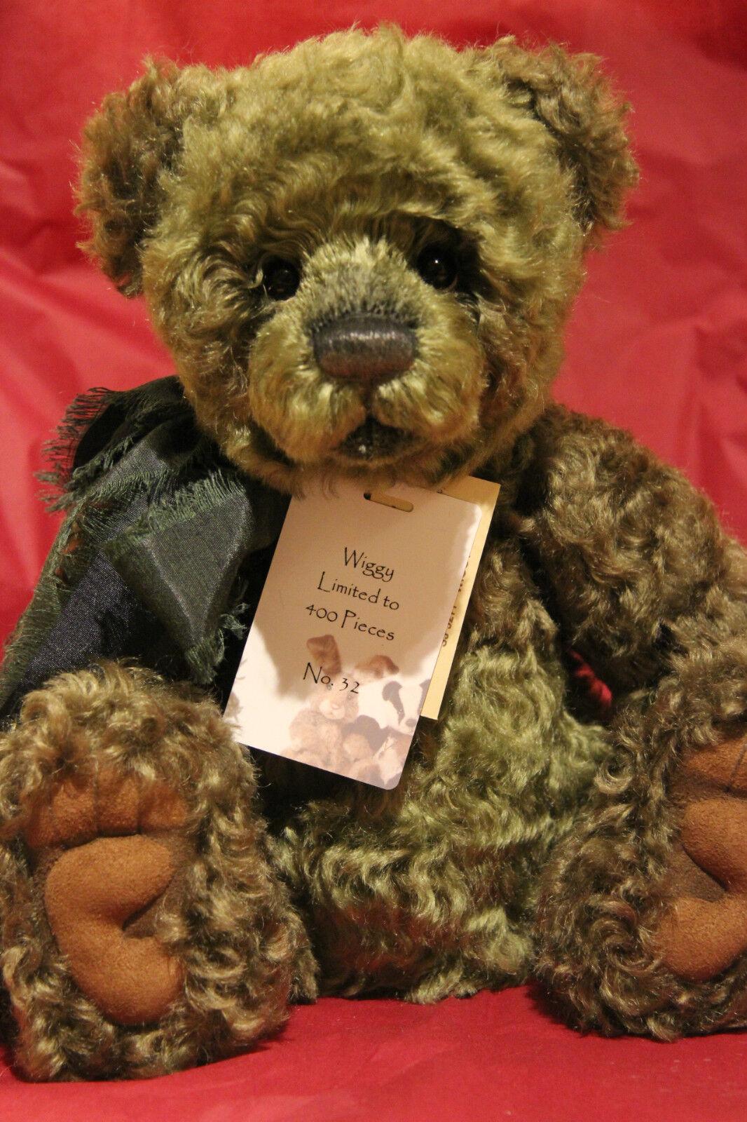 Charlie Bears - - - Wiggy - Isabelle Sammlung - Neu mit Etikett c198ee
