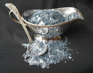 2-CUPS-of-Mica-Flakes-Vintage-Mica-Glacier-Blue-Approx-1-4-034-Size