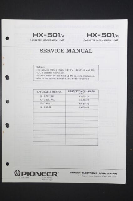 Pioneer Hx Instruction  Wiring