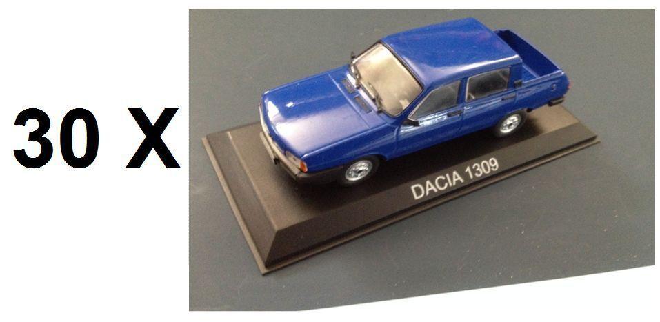 Lotes de 30 coches 1 43 DACIA 1309 Diecast Modelo Coche legendario URSS IXO 24