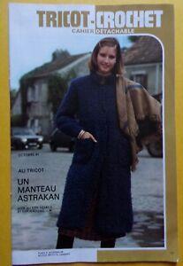 # cahier tricot crochet 10//1980 MODES ET TRAVAUX