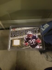 Corey Dillon 2007 Fleer Ultra Paydirt - Game Worn/Used Patch - Patriots