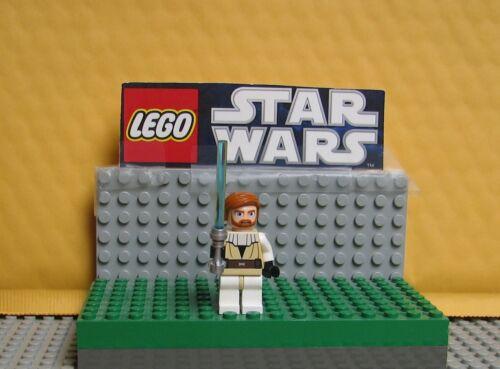 """STAR WARS LEGO MINIFIGURE  MINI FIG  /"""" OBI WAN KENOBI--7931  CLONE WARS  /"""""""