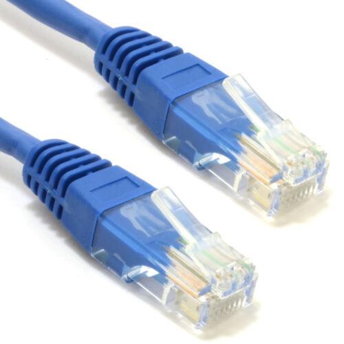 50cm Blue Network Ethernet RJ45 Cat5E-CCA UTP PATCH 26AWG Cable 0.5m 008205