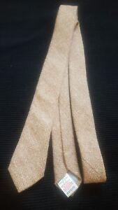 952a59e7cacd TOPMAN Extra Skinny Orange Cross Hatch Mens Designer Neck Tie by Top ...