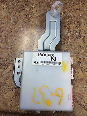 98800JK600 07-15 INFINITI G25,G35,G37,Q40,Q60 DRIVER SEAT MEMORY MODULE