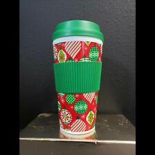 Thermal 16 oz Travel Coffee Mug Cup Flip Lid with Rubber