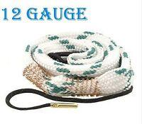 New Bore Snake 12 Gauge Shotgun Barrel Cleaner Cleaning Kit Rope 12G Boresnake