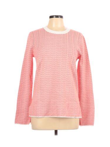 Tory Sport Women Pink Long Sleeve T-Shirt L
