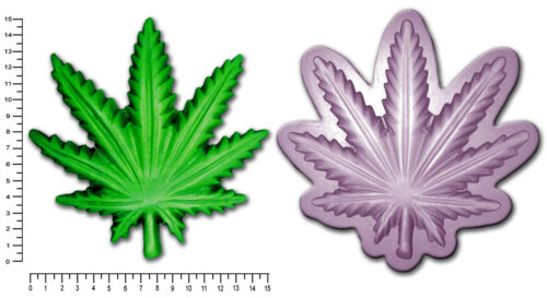 CANNABIS HEMP MARIJUANA Multi Sizes Craft Sugarcraft Soap Bath Bomb Mold Mould
