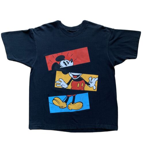 Mickey Mouse Disney Vintage Shirt Large Movie Prom